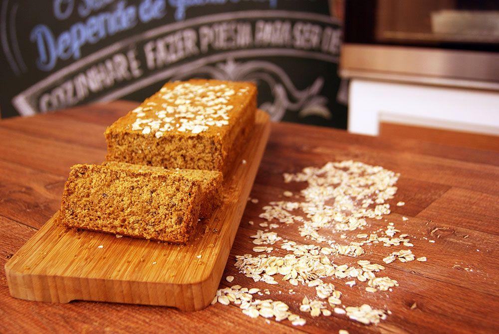 Pão de Aveia sem Glúten
