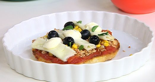 Falsa Pizza de Frango
