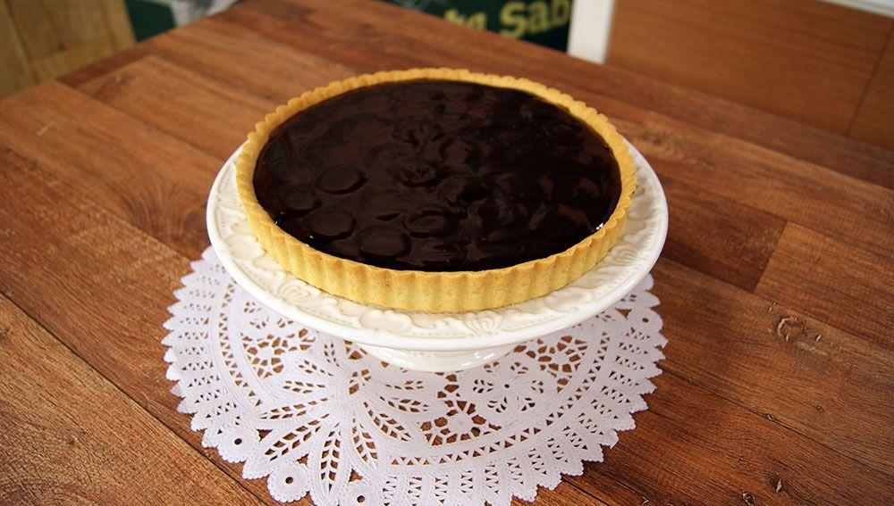 Torta de Caramelo, Banana e Chocolate
