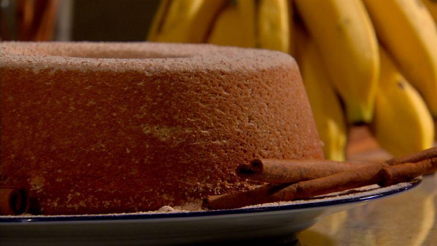 Bolo de Banana da Amanda Froçozo
