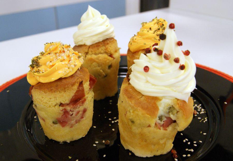 Muffins Salgados de Frios