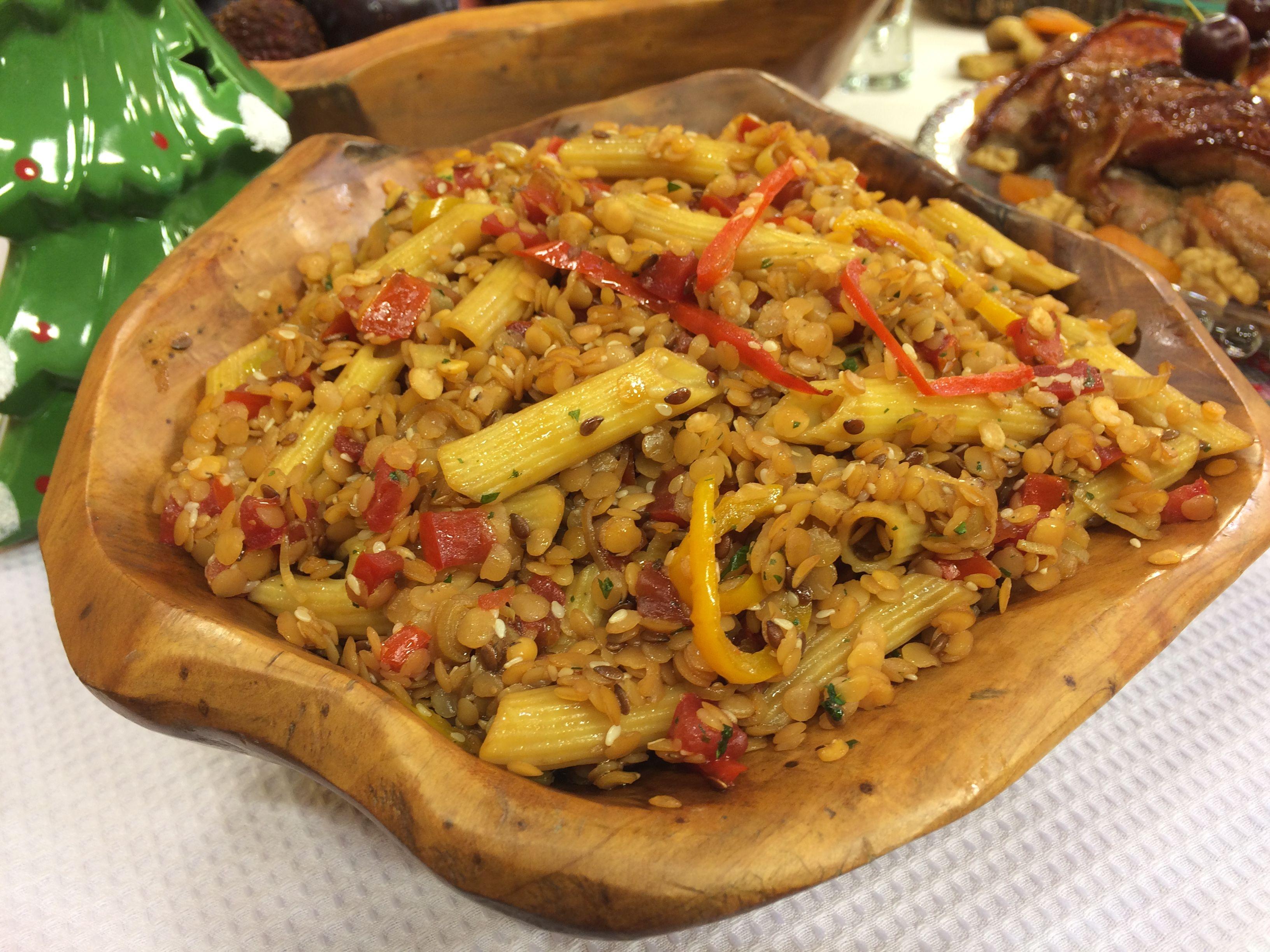 Salada de Macarrão Oriental Sem Glúten