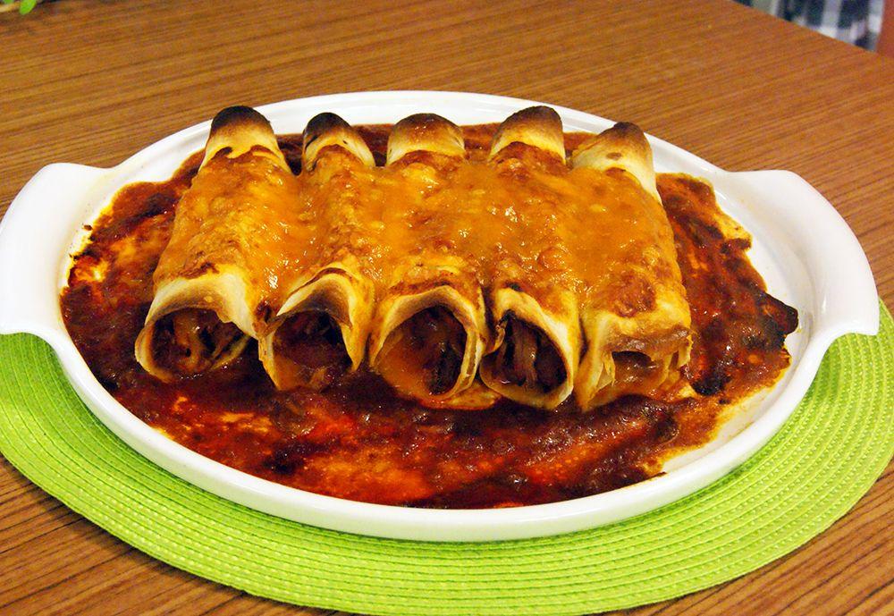 Enchiladas de Porco