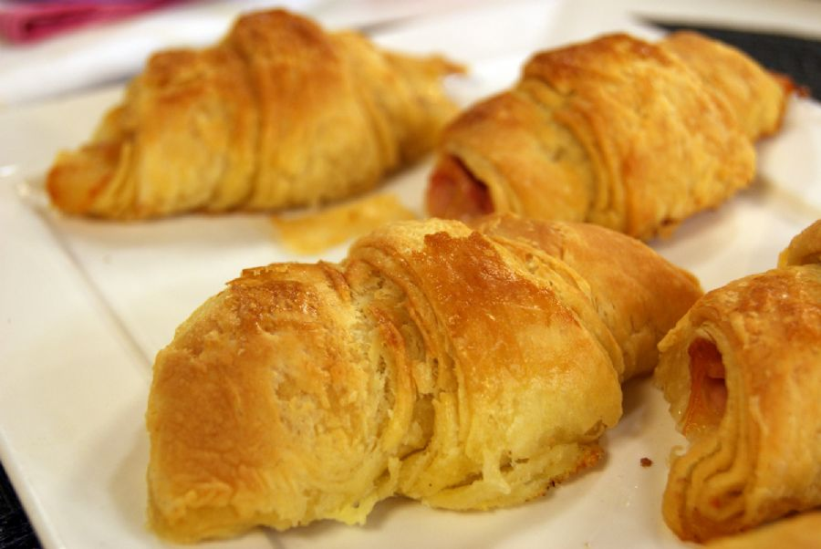 Croissant Semi Folhado da Padaria do Bork
