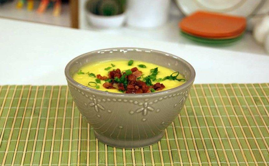 Sopa Creme de Mandioquinha