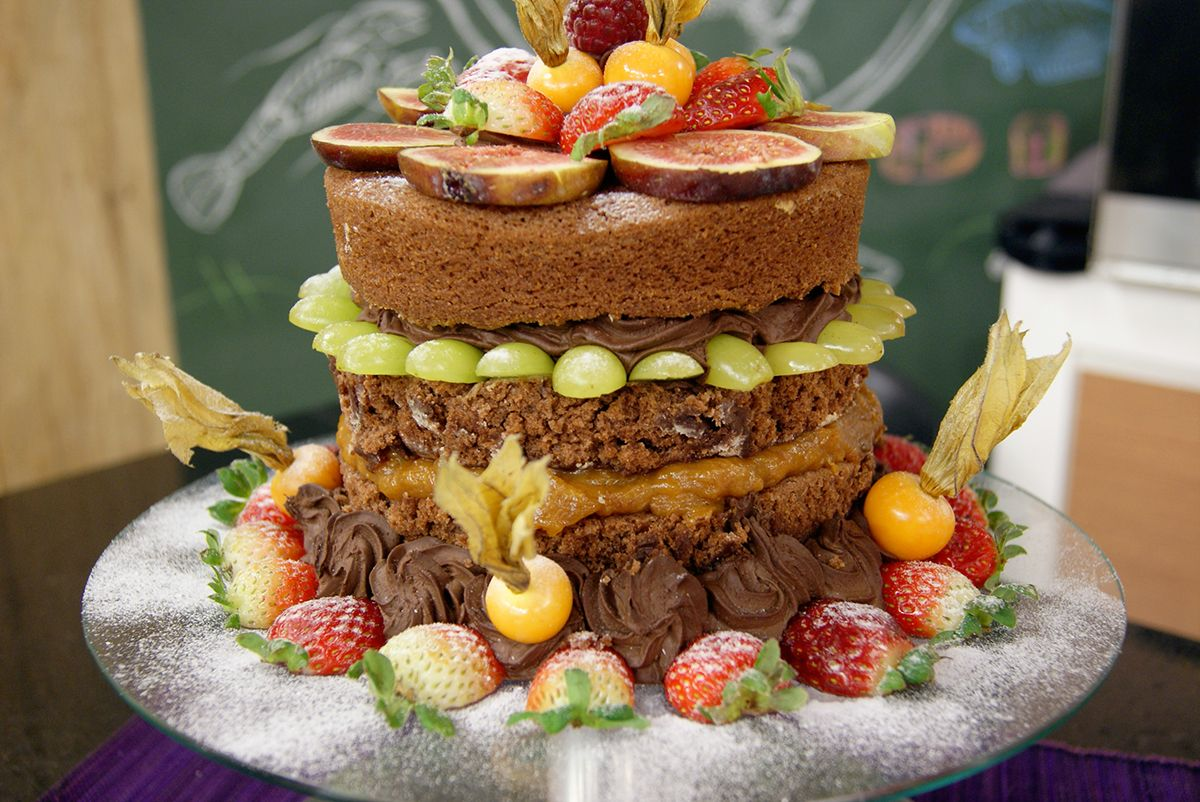 Naked Cake Vegano