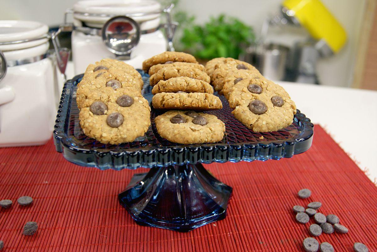 Cookie de Pasta de Amendoim e Chocolate
