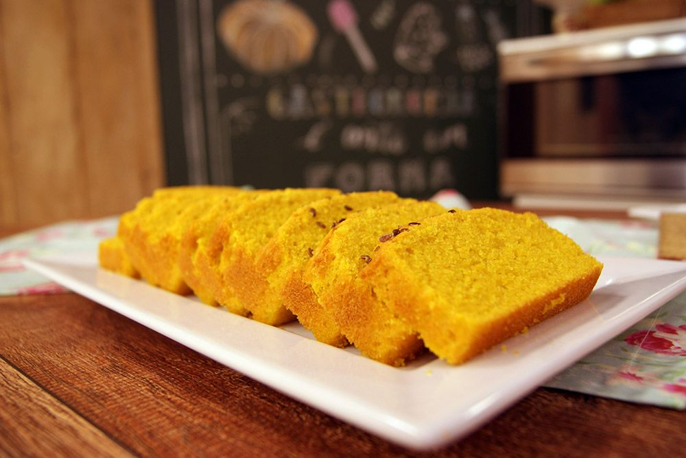 Pão de Cenoura sem Glúten e Sem Lactose