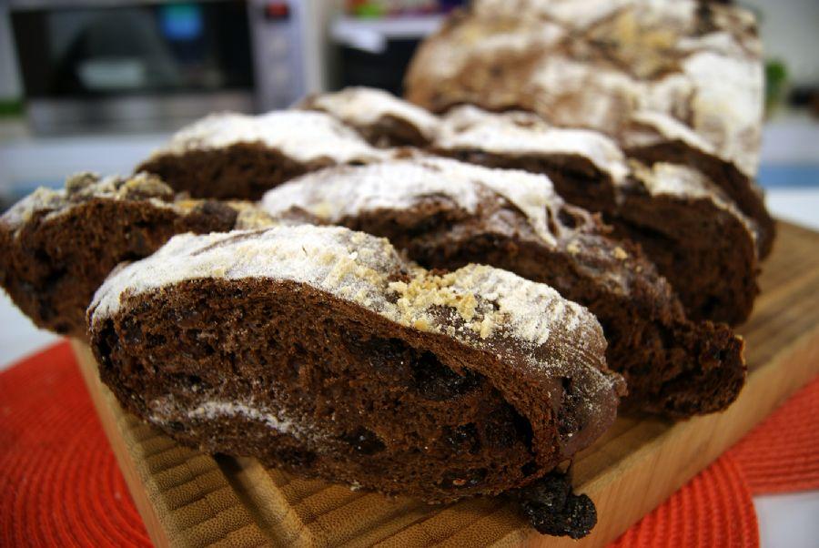 Pão Rústico de Chocolate