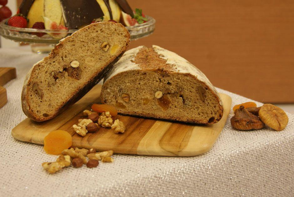 Pão de Frutas Secas