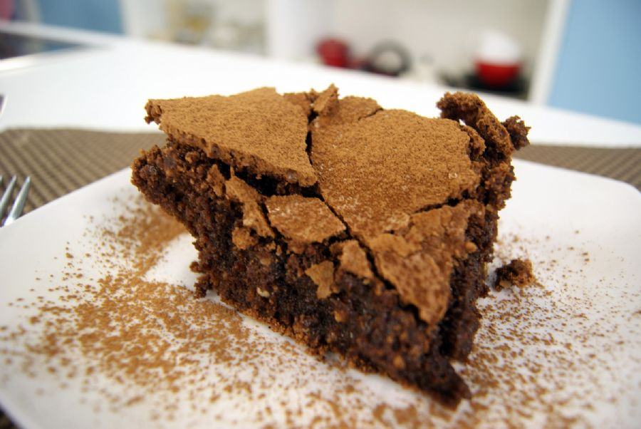 Brownie de Chocolate com Castanhas