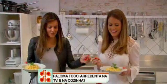 Paloma Tocci é a convidada do Papo de Cozinha desta semana