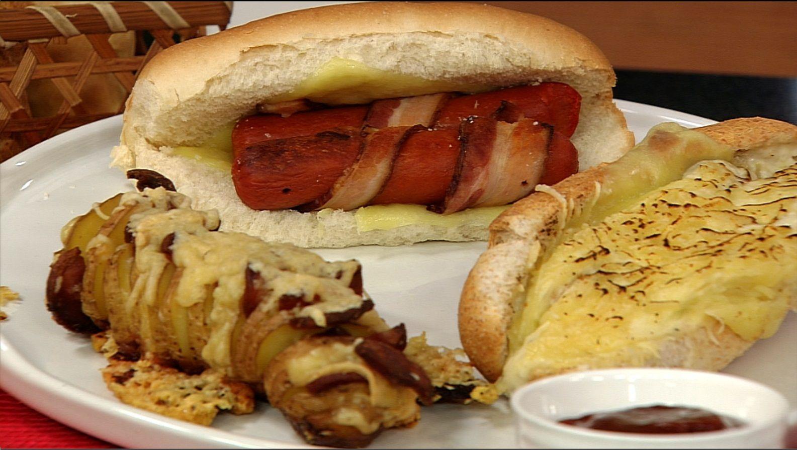 """Hot Dogs e Batata """"Bombada"""""""