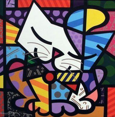 Uma das obras mais famosas do artista plástico / Foto: Divulgação/Site Oficial