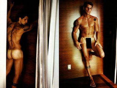 Fernando Fernandes no especial Sexy by Mario Testino da Vogue alemã / Foto: Divulgação/Vogue