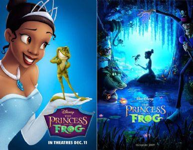 Novos cartazes do primeiro filme da Disney com uma pricnesa negra