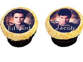 Cupcakes para fãs de Robert Pattinson e Taylor Lautner