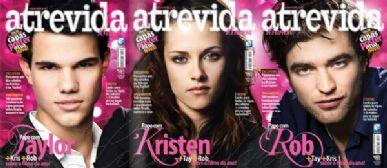 As três opções de capa da revista
