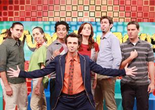 Elídio Sannas, Marianna Armellini, Marco Gonçalves, Cristiane Werson, Anderson Bizzocchi, Daniel Nascimento e Marcio Ballas (à frente)