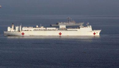 Navio chega a costa do Haiti nesta quarta-feira