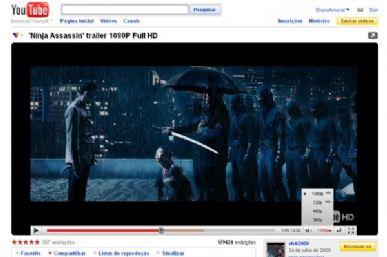 Novo player mostra opções de resolução do vídeo de maneira mais clara