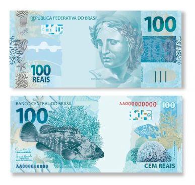 Nova cédula de R$ 100 começa a circular no primeiro semestre