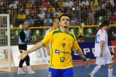 Falcão é o principal artilheiro de futsal no país   Foto  Divulgaçao CBFS  Falcão é o principal artilheiro de futsal no país Foto  Divulgaçao CBFS 523061f6a965b