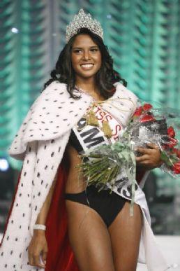 Silvia Novais, a  miss São Paulo 2009