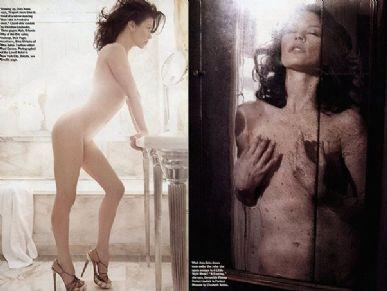Catherine Zeta-Jones com corpo impecável aos 40