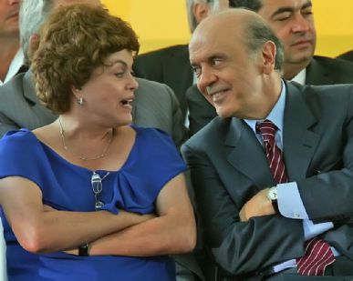 Serra e Dilma são os principais adversários da disputa eleitoral à Presidência