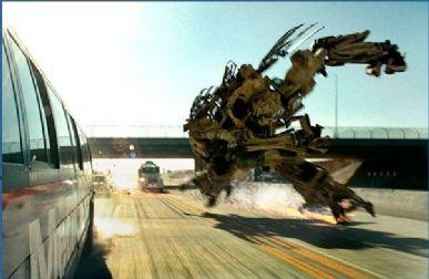 `Transformers 3´  será exibido em 3D