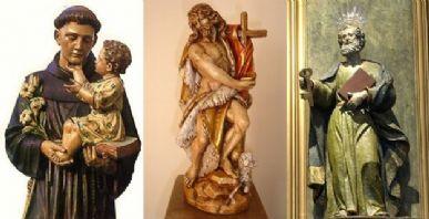 Santo Antônio, São João e São Pedro / Foto: Reprodução