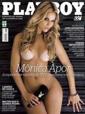 Playboy com Mônica Apor chega às bancas em julho