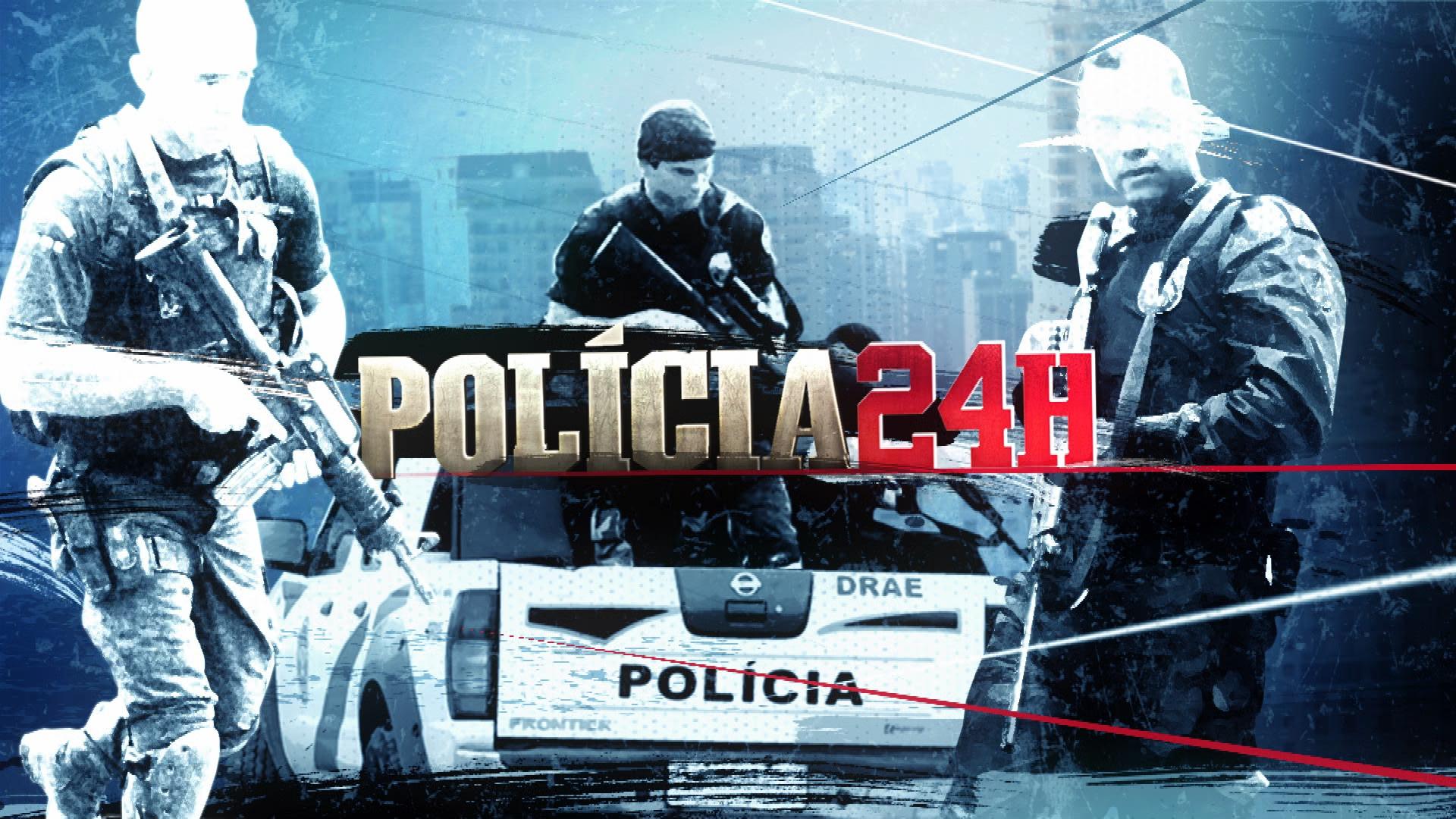 O programa Polícia 24H faz um registro fiel do cotidiano da corporação