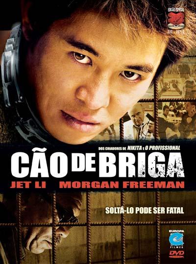 O ator chinês Jet Li, especializado em filmes de artes marciais, treina kung fu desde os oito anos de idade