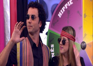 Marco Luque e Dani Calabresa interpretam personagens na gravação
