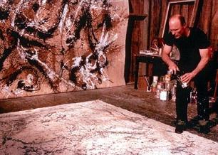 No filme, Ed Harris interpreta o artista Jackson Pollock