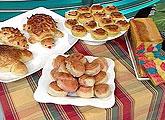 Pão para Lanche Colorido