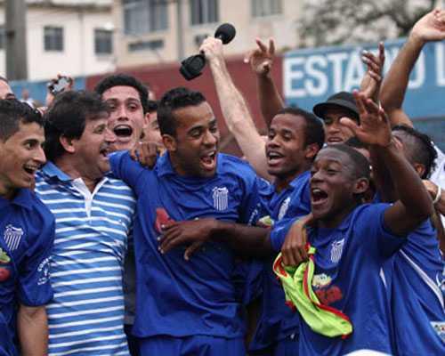 Goytacaz foi o campeão da Série C de 2012 e subiu para a Série B junto a Juventus e Carapebus