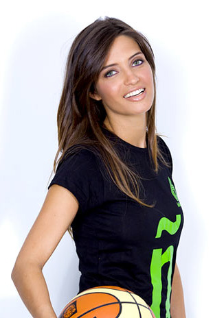 Sara Carbonero, da Espanha, foi eleita a jornalista esportiva mais sexy do mundo pela revista FHM.