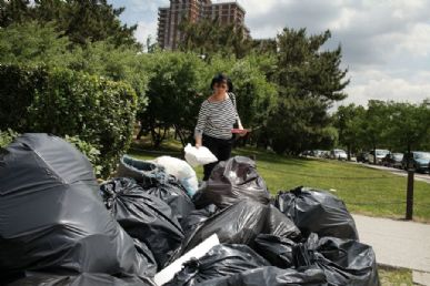 Brasil recicla apenas 2% do lixo urbano / Foto: Spencer Platt/Getty Images/AFP