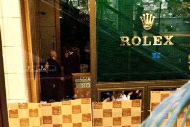 054fbde6b80 Intregrante de quadrilha que roubou Tiffany também assaltou Rolex -  Band.com.br