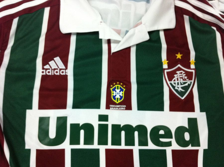 Fluminense estreia camisa com escudo da CBF neste sábado - Band.com.br c7a03536cecdd