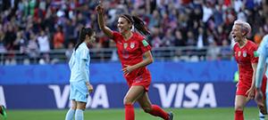 Copa do Mundo de Futebol Feminino / Domingo