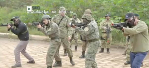 Soldados por diversão