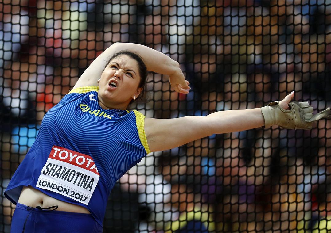 Força e dor: as expressões dos atletas do arremesso no Mundial
