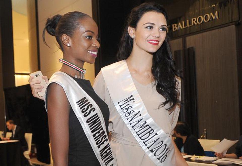 Misses chegam para concentração do Miss Universo