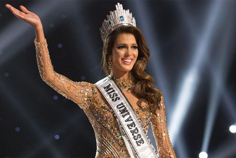 Em 2016, Iris Mittenaere, da França, foi a coroada