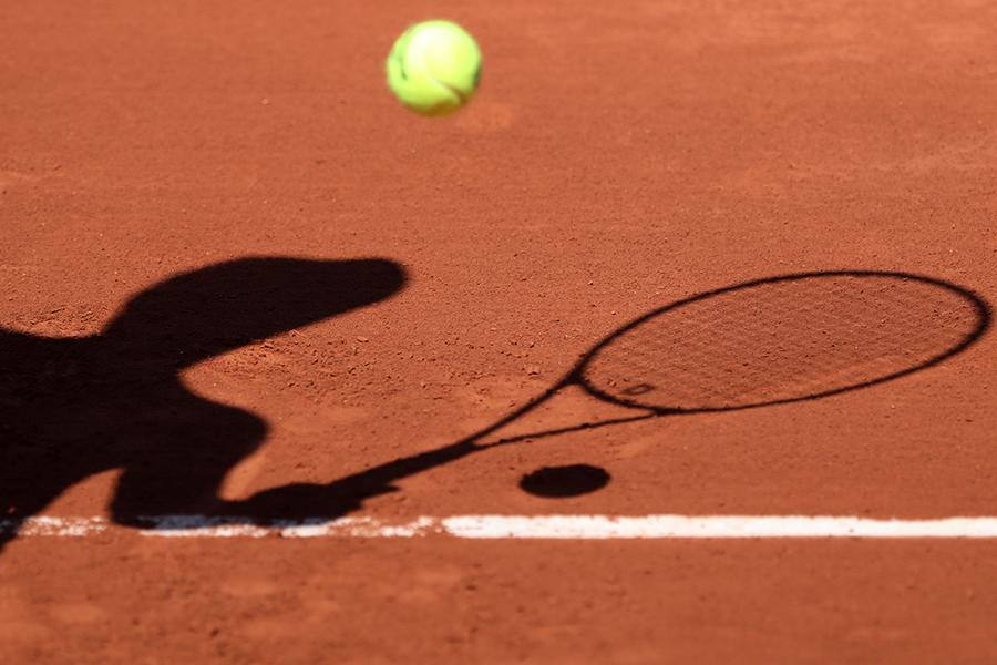 As imagens curiosas de Roland Garros