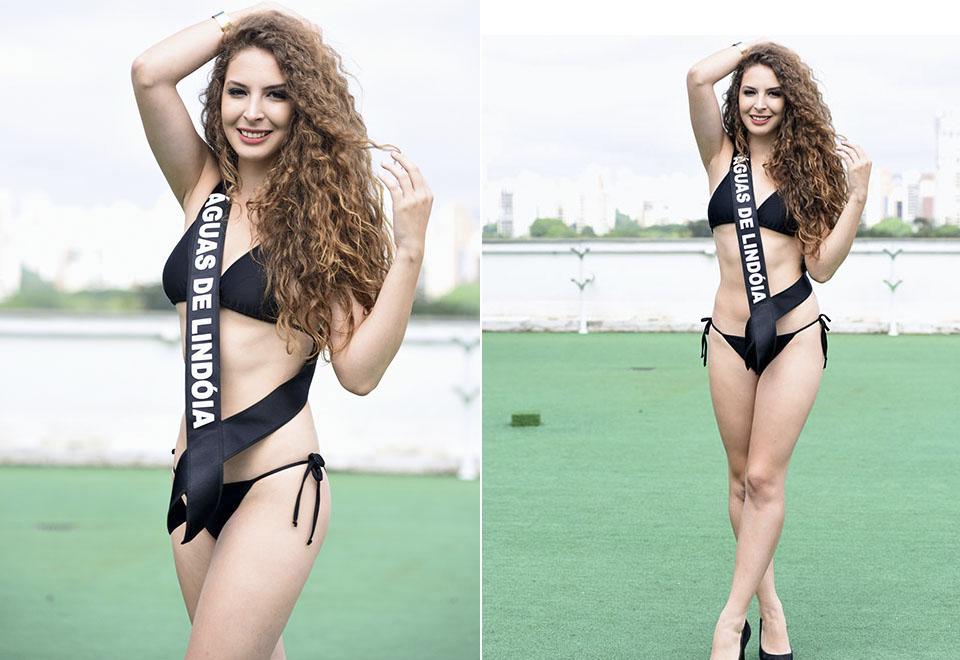 Candidatas do Miss São Paulo desfilam de biquíni